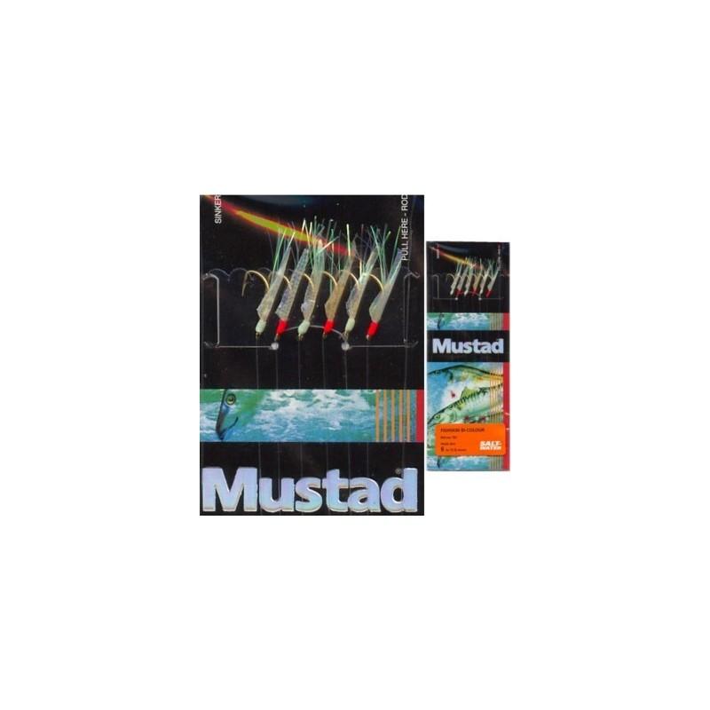 Mustad Τσαπαρί Fishskin bi-colour T81