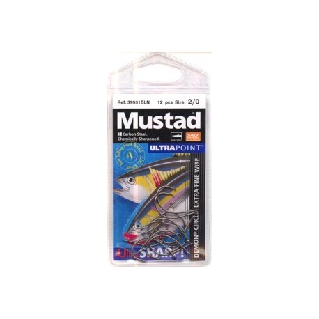 Mustad 39951BLN Demon Circle