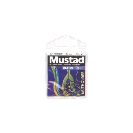 Mustad 10750BLN Eyed Baitholder