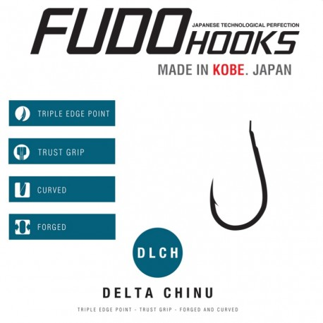 FUDO Delta Chinu - Black Nickel