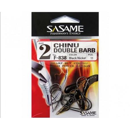 SASAME Chinu Double Barb Hook F838