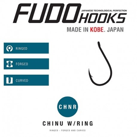 FUDO Chinu W/Ring - Black Nickel