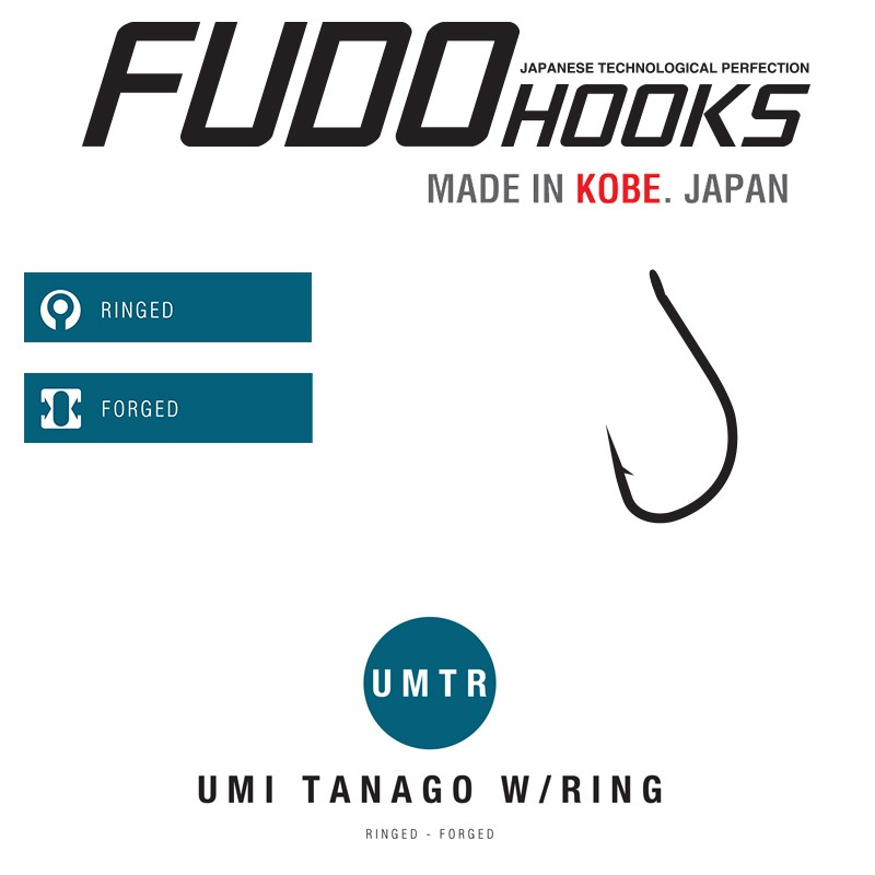 FUDO Αγκίστρια UMI TANAGO W/RING